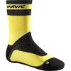 Mavic Ksyrium Pro Thermo+ Cykelstrømper gul/sort